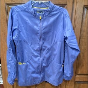 Wonder wink scrub jacket